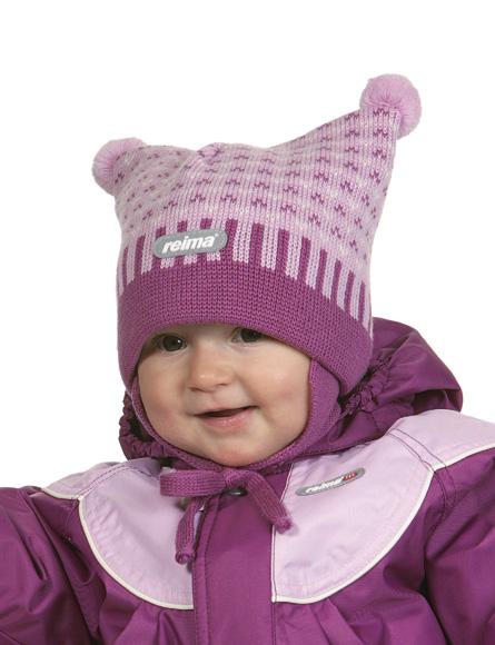 Флисовые шапочки для детей 161